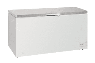 Stainless Steel Top Storage Chest Freezers