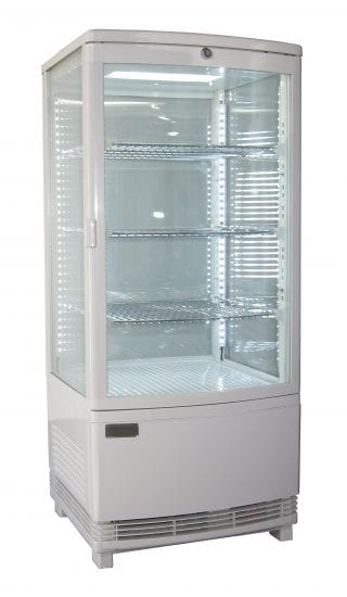 Vertical Counter Top Display Chillers
