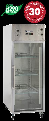 One Glass Door Upright Storage Refrigerators
