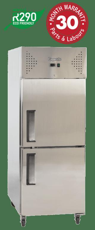 One Solid Split Door Upright Storage Refrigerators