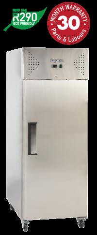 One Solid Door Upright Storage Freezers
