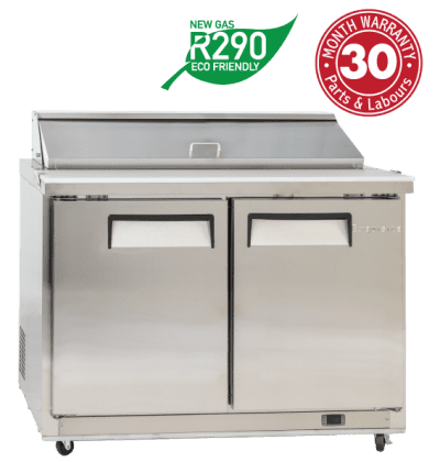 Two Doors Food Preparation Refrigerators