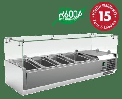 Counter Top Food Preparation Refrigerators