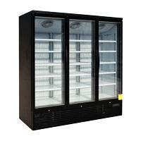Upright Three Glass Door Refrigeration